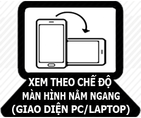 Giao diện PC/Laptop