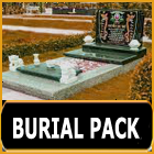Burial package service